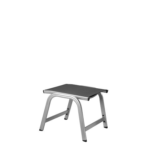 Basic Plus Ottoman in Gray ()