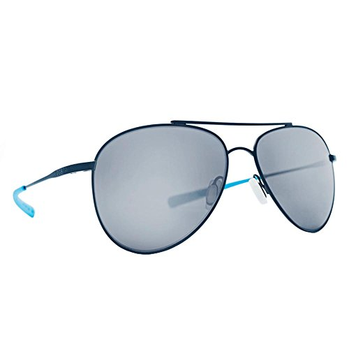 Costa Del Mar COO158OSGP Cook Sunglass, Satin Black Ocearch Gray Sil - Costa Cook