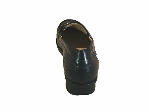 Fidelio Kvinna Hallux Magiska Stretch Loafers Platta, Storlek 7,5, Färg Svart