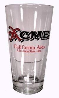 Acme California Ales - North Coast Brewing Company Glassware - Set of Pint (North Coast Beer)