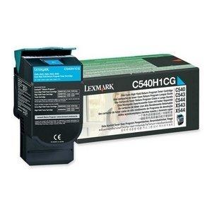 (Lexmark Return High Capacity Cyan Toner Cartridge. CYAN TONER CARTRIDGE HIGH YIELD RETURN PROG FOR C54X/X543/X544. Cyan - Laser - 2000 Page - 1 Each)