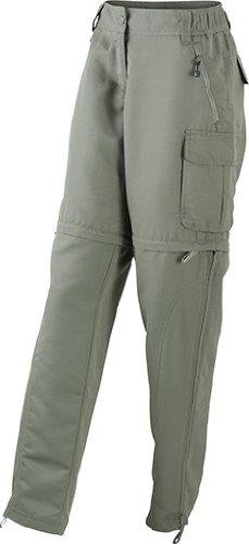 olive mujer trekking de 1 2 Dusty Pantalones en UXqZw7500