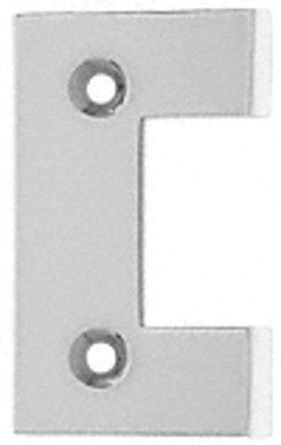 C.R. LAURENCE G2SC CRL Satin Chrome Geneva Series Standard Cover Plate for the Door Side
