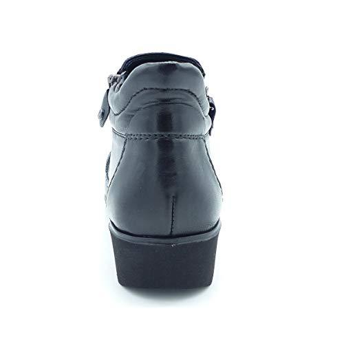 Caño Mujer 61 Negro Bajo Botines De Ara12 42774 xpqFvq6