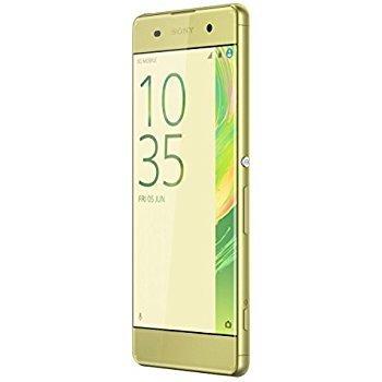 Sony Xperia XA unlocked smartphone,16GB, International Version - No Warranty - Lime Gold