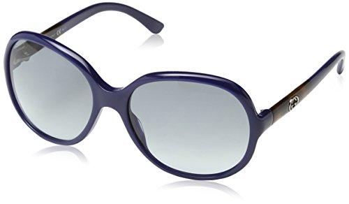 Gucci 3614/S Sunglasses Blue / Gray Gradient