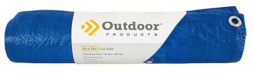 Outdoor Products Rolled Tarp, 8 x 10 Foot