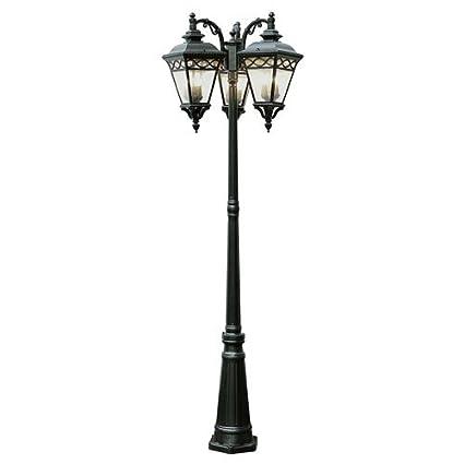 Outdoor Pole Lighting Fixtures Amazon trans globe lighting 50518 bk outdoor candlewood 8075 trans globe lighting 50518 bk outdoor candlewood 8075quot pole light workwithnaturefo