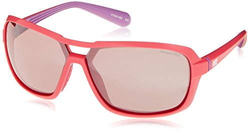 Nike Racer E Sunglasses, Pink Force/Matte Laser Purple, Max Speed Tint - Force Sunglasses