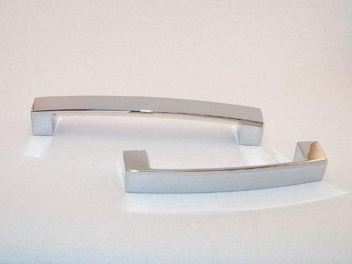 SO-TECH® Griff Möbelgriff Möbelgriffe Möbelbeschlag ST01 Chrom poliert BA 128 mm SOTECH ST01-C128