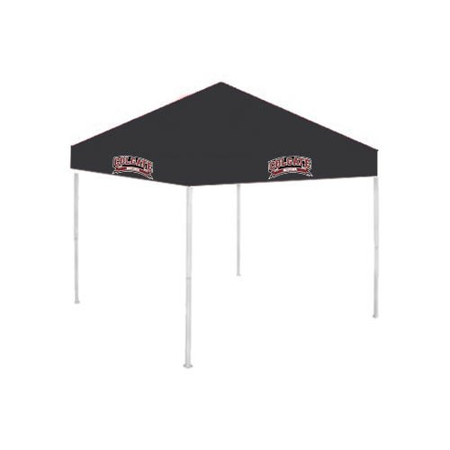 Colgate 9 ft x 9 ft Black Tent 'Soccer' by CollegeFanGear