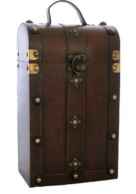 Bella Vita - WBox2 Medieval - Wood 2-Bottle Wine Box