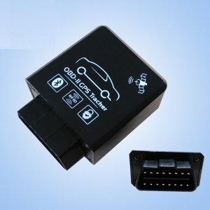 No Wiring Advance OBD II Realtime GPS Car Tracker + Engine Diagnostic on
