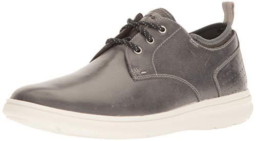 Rockport Men's Zaden Plain Toe Ox Shoe, dark shadow, 10 M -