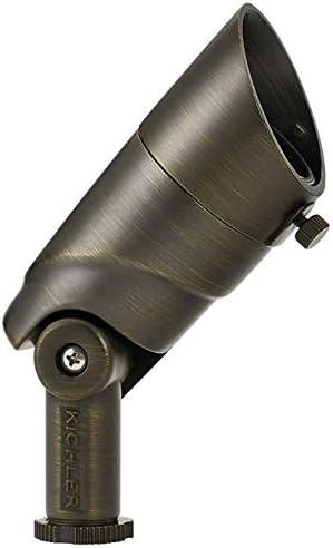 Kichler 16016CBR27 Landscape Accent, 1-Light LED 8 Watts, Centennial Brass