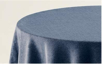 BENEDETTAHOME Falda Mesa Camilla Rectangular Lisa Terciopelo 80x120cm. Azul: Amazon.es: Hogar