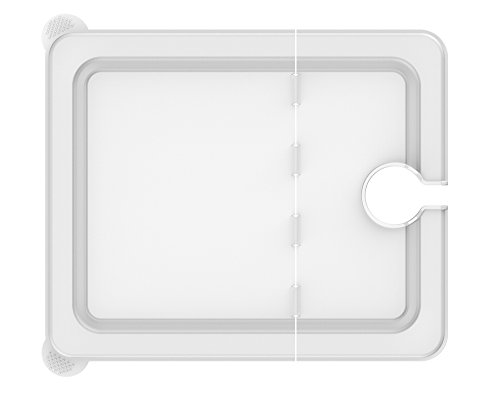 EVERIE Sous Vide Lid for Chefsteps Joule Cookers, for 12 Quart EVERIE, LIPAVI, Sous Vide Ninja Container (Side Mount) ( Does Not Fit Rubbermaid ) (Lid Side)