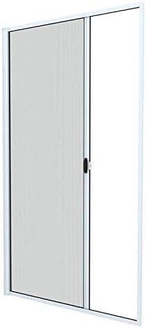 JAROLIFT 3 en 1 Puerta corredera mosquitera - Zanzara Mosquitera para puertas, marco de aluminio 140 x 240 cm, blanco: Amazon.es: Bricolaje y herramientas