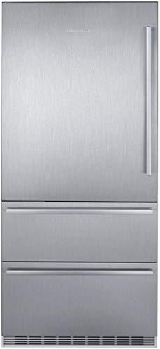 Liebherr CS2081 Counter Depth Bottom Freezer Refrigerator in Stainless Steel