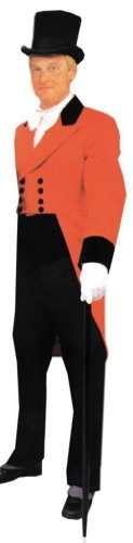 Ringmaster Coat and Vest Men's Costume (Ringmaster Halloween Makeup)