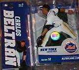 Mcfarlane Series 12 Carlos Beltran White Jersey Variant Ney York Mets
