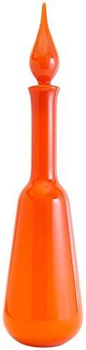 Orange Cased Glass - Jonathan Adler Pop Decanter, Orange