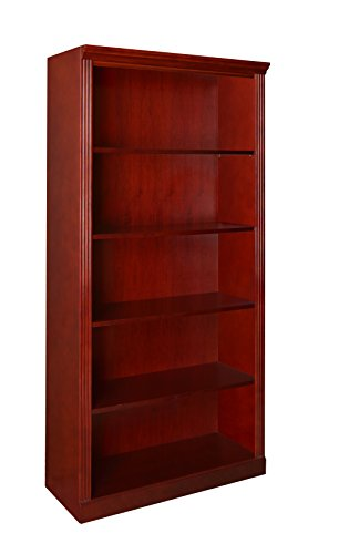 Regency Prestige 72-Inch Bookcase, Mahogany Conference Wall Cabinet