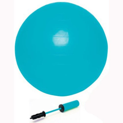 bally-total-fitness-55cm-pilates-exercise-ball-blue