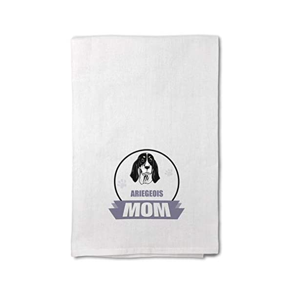 Style In Print Custom Decor Flour Kitchen Towels Mom Ariegeois Dog Pets Dogs Cleaning Supplies Dish Towels Design Only 1