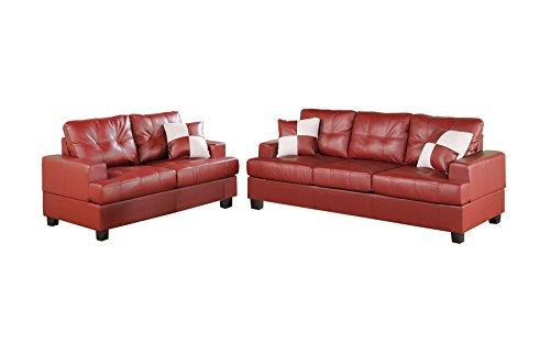 poundex-bobkona-sherman-bonded-leather-2-piece-sofa-and-loveseat-set-burgundy