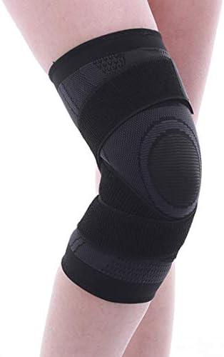 LilyAngel ニットの動き膝の圧力のサイクリングバスケットボールのフィットネスの通気性のある巻き上げ装置のメンテナンス1個 (Color : レッド, サイズ : XL)