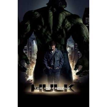 amazoncom the incredible hulk movie poster amazing