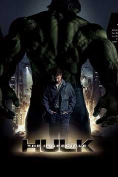 The Incredible Hulk Movie Poster Amazing Collage