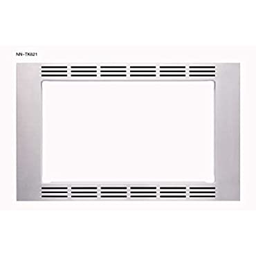 Panasonic Optional 27 Trim Kit for 1.2 cuft Microwaves, Stainless Steel, NN-TK621SS