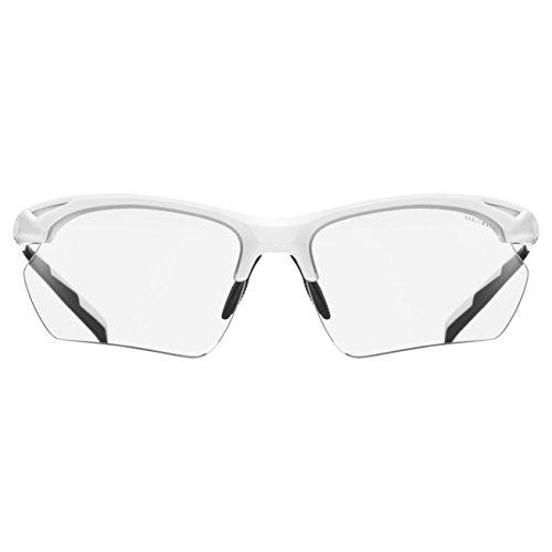 Lunettes de Uvex Mixte Soleil 802 V Sportstyle Blanc twwSqf