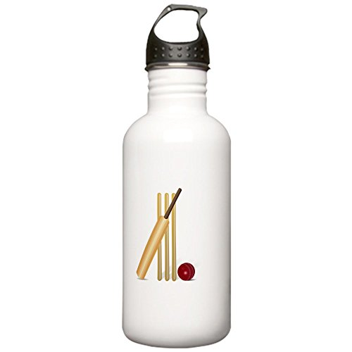 CafePress - Cricket Wicket Stainless Water Bottle 1.0L - Stainless Steel Water Bottle, 1.0L Sports Bottle by CafePress
