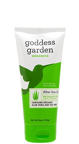 Aloe Vera After Sun Gel Goddess Garden 6 oz  Gel