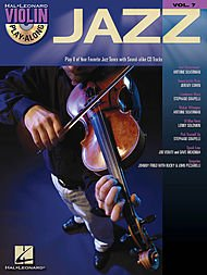 (Hal Leonard Jazz Violin Play-Along Volume 7 Book/CD)