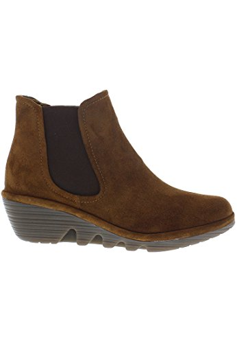 Fly London PHIL, Women's Ankle Boots, CAMEL, 42 EU