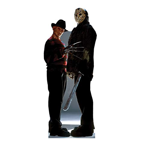 (Advanced Graphics Freddy vs. Jason Life Size Cardboard Cutout Standup - Freddy vs. Jason (2003)