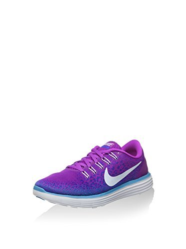 Nike Womens Free RN Distance Running Trainers 827116 Sneakers Shoes (US 7, hyper volt blue tint force purple 501)