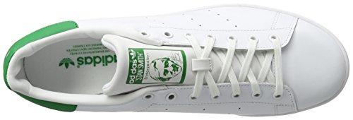 adidas Unisex-Erwachsene Stan Smith Basketballschuhe Elfenbein (Running White Ftw/running White/fairway)
