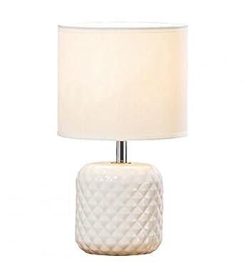 À Et Porcelaine Lampe En Eclairage Poser BlancheLuminaires rdxoCWBe