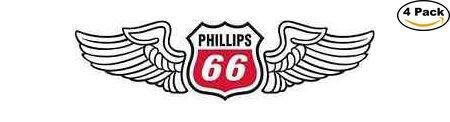 Phillips 66 Vinyl Sticker Decal 2X5