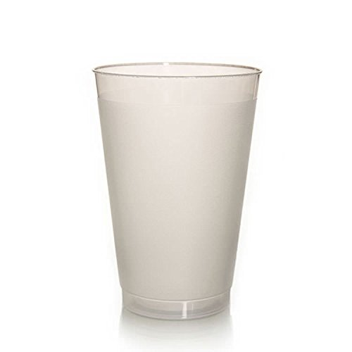 - (500) 10 oz Frosted Plastic Cup