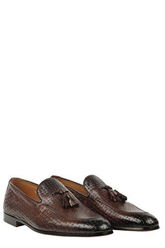 DOUCAL'S - Mocasines de Piel para hombre marrón marrón 41