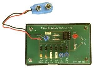 Square Wave Oscillator LN/NE555 (inc box Electronics123.com Inc.