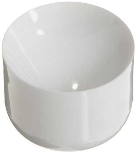 Nalgene DS3126-0175 White Polycarbonate Conical Bottom Centrifuge Bottle Adapter, 61.7mm OD (Case of 4)