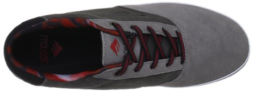 Emerica THE PROVOST, Sneaker uomo Grigio (Grey/Grey/Red)