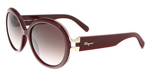 Salvatore Ferragamo SF780/S 603 Bordeaux Oval Sunglasses